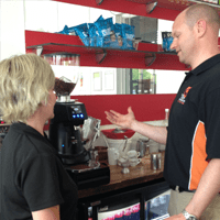 coffee demonstration